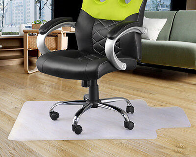 120 x 90cm Anti-slip Home Office Carpet Frosted Floor Protector Chair Mat Lipped