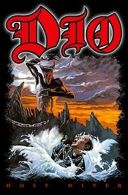 "Dio / Ronnie James Dio Flagge / Fahne ""holy Diver"" - Posterflag"