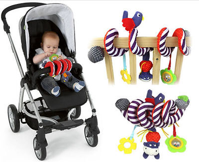 US Store1pc Baby Toy Newborn Rattles Stroller Bed Hanging Educational Plush Toys