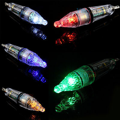 5 color Señuelo cebo LED Luz profundidad de pesca Squid señuelo de lámpara flash