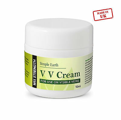 Varicose Veins Treatment Cream Aching Legs Foot Cream Calendula UK Made Organic
