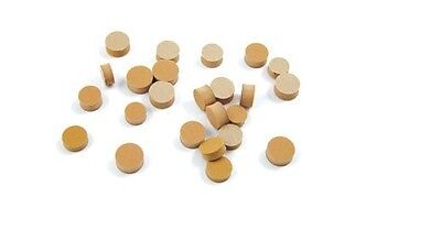 A Pack of 2 Sticky Back waterkey Corks 9mm diameter -Fits Most Brass Instruments