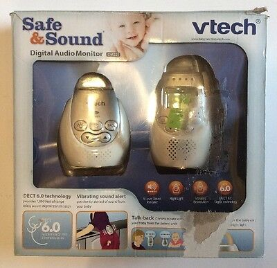 VTech SAFE & SOUND DM221 Digital Audio Baby Monitor NEW!