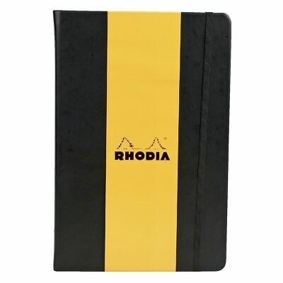 Rhodia Webbie A5 Dot Grid Black