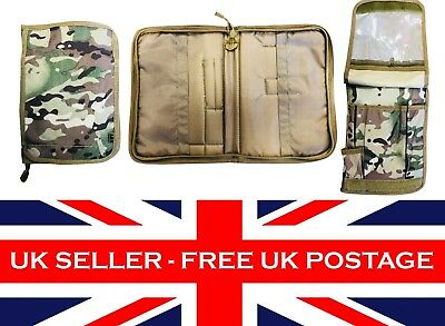 A5 Multicam MTP BTP Folder Notepad Holder File Map Case Cover Tactical Airsoft