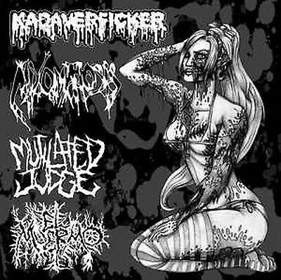 KADAVERFICKER/MIXOMATOSIS/MUTILATED JUDGE/EL MUERMO - 4 Way Split EP Gutalax CBT