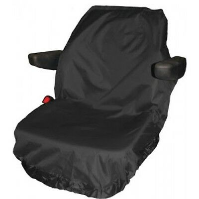 Town & Country Universal Large Tractor Protective Seat Cover - BLACK - T2BLK