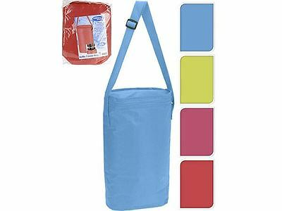 6.5L Blue Insulated Bottle Cooler Bag Summer Camping Picnic Travel Fishing