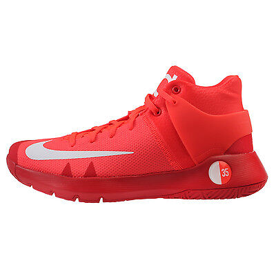 new arrival 17cbf a9436 Nike KD Trey 5 IV Mens 844571-616 Crimson Red Durant Basketball Shoes Size  10