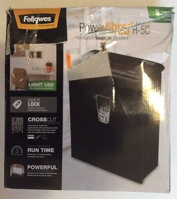 Fellowes PowerShred H-5C
