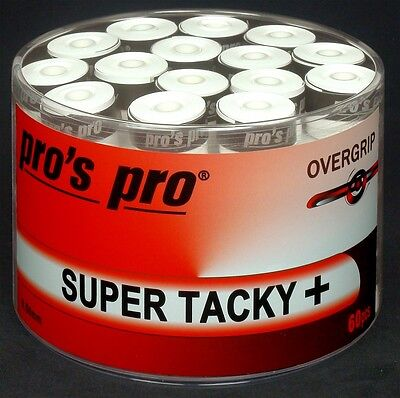 Overgrip Pro's Pro Super Tacky Plus 60 White