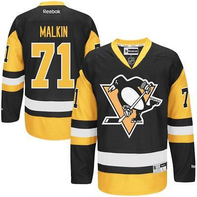 Reebok Pittsburgh Penguins Evgeni Malkin #71 NHL Trikot Home