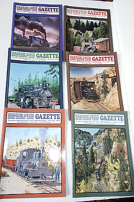 2008 Narrow Gauge & Short Line Gazette, 6 Issues (entire year)