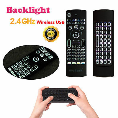 2.4GHz Wireless Keyboard Remote Qwerty Fly Air Mouse for Android TV Box XBMC