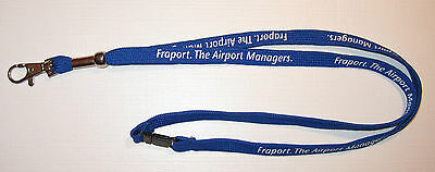 Fraport The Airport Managers Schlüsselband Lanyard NEU (T174)