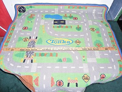 """Tonka Toys Childrens Room Area Rug,   40"""" X 40"""" Approx."""