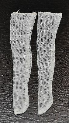 BARBIE - FRANCIE vintage White Textured STOCKINGS 1960s Mattel -rj