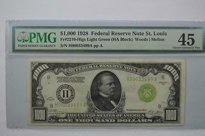$1000.00 Federal Reserve Note Lot 179