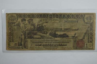 $1.00 Silver Certificate. Series of 1896, Fr-225 Lot 149