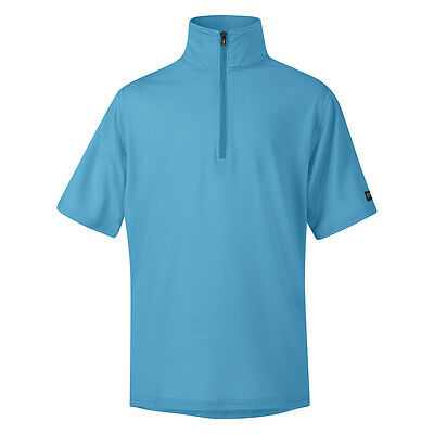 Kerrits Ice Fil Short Sleeve Riding Shirt - Childs/Kids -Diff Sizes- Marina Blue