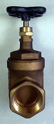 """1 New Nibco T-113 Bronze Gate Valve 3"""" Mss Sp-80"""