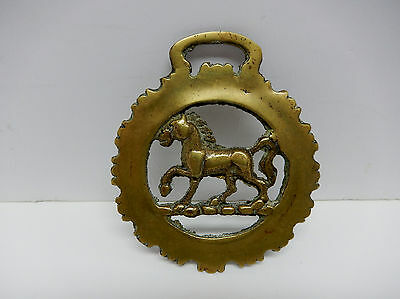 Vintage Decorative Horse Brass Collectible Equestrian 1950's