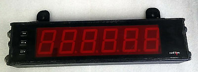 1 Used Red Lion Oemkh004 Large Display Counter 6-Digit