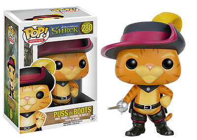 Funko Pop Movies Dreamworks Shrek: Puss In Boots Vinyl Collectible Action Figure