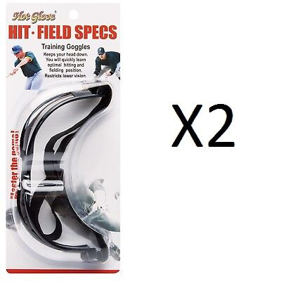 Unique Sports Hit N Field Baseball Softball Specs Training Goggle HFS-1 (2-Pack)