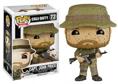 Funko Pop Games Call Of Duty: Captain John Price Vinyl Collectible Action Figure