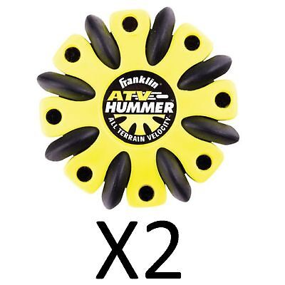 Franklin NHL Street Hockey ATV All Terrain Hummer Puck, Colors May Vary (2-Pack)