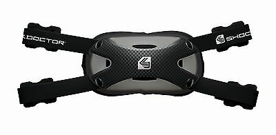 Shock Doctor Ultra Carbon Chin Strap Football/Lacrosse- Youth Small/Medium Black