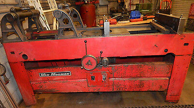 Van Norman Model 570 Rotary Broach Surfacer Head and Block Mill