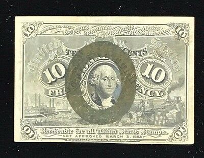 Second Issue 10 Cent Fractional Currency