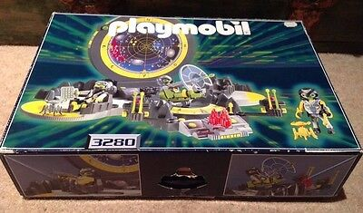 COMPLETE PLAYMOBIL Space 3280 Alien Space Station Control Centre Boxed RARE