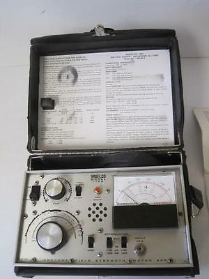 Sadelco FS-719 Field Strength Antenna Meter Exc w/case/papers **Worldwide**