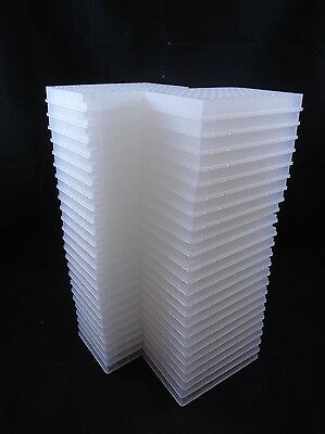 NEW Laboratory Polypropylene 96-Well Clear Well Plates (Lot of 50 Well Plates)