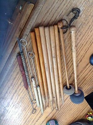 Vintage Drum Sticks Slingerland Ludwig And Brushes