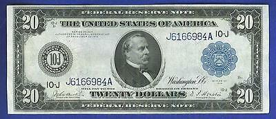 $20 1914 LARGE  BEAUTIFUL *KANSAS CITY* Federal Reserve Note!