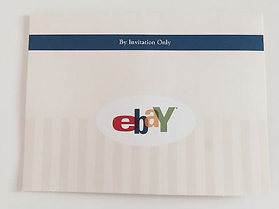 Collectible Official ebay Personal Invitation, Welcome to Ebay from 2004 FRAMING