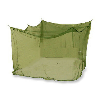 Oztrail Double Size Box Mozzie (Green) Net Tent Mosquito