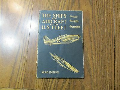 Ships and Aircraft of the U.S. Fleet, WWII War Edition, 1942 War Edition
