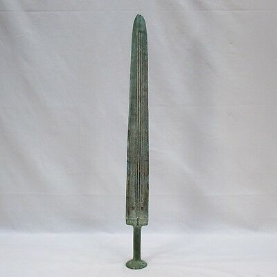 H497: Chinese ancient style copper sword DOHOKO of appropriate work and quality