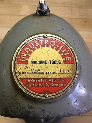 Rare Industro-Lite Mill Head VB.50