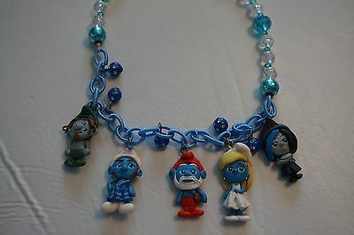 Smurf Characters 16 Inch Necklace NWOT