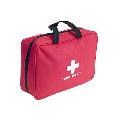 100 Piece First Aid Emergency Kit Tool Car Home Medical Camping Office Travel