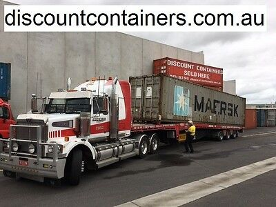 20ft and 40ft Shipping Container - Transport only - Victoria-wide 03 9314 3331