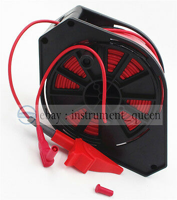 Red Cable Reel for GEO Earth Ground Resistance Testing Meter Test Leads