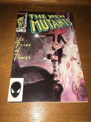 The New Mutants #25 VF/NM 1st Appearance Of Legion Comic Book FX Tv Show