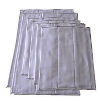 Prefolds Infant 2x5x2 Soft and Absorbent Baby Diapers 100% Cotton-Fits 6-15 Lbs
